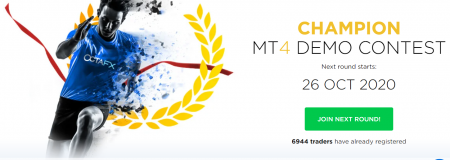 Concurso OctaFX MT4 Demo Trading - Até 1000 USD!