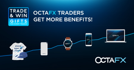 OctaFX Trade and Win Promotion - Gift for Traders