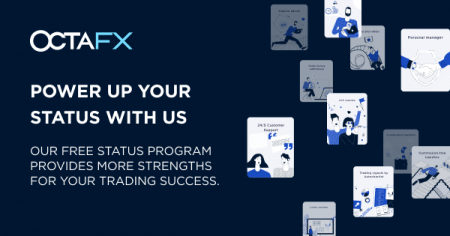 Programa de status de traders da OctaFX