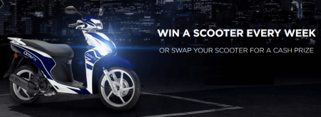 OctaFX Weekly Scooter Giveaway - Win a Scooter