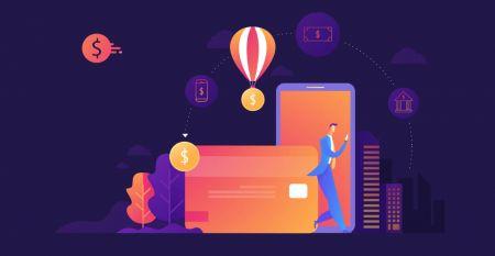 Como fazer login e depositar dinheiro na OctaFX
